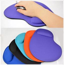 Новый EVA силиконовый мягкий коврик для мыши с подставкой для запястья для игровых ПК ноутбук Mac от