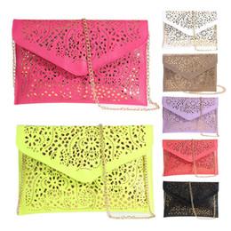 Umschlag Folie Floral Handtasche Frauen Tasche Lady Womens Leder Handtasche Schulter Abendtasche Berühmte Designer Umschlag Clutch Bolsa von Fabrikanten