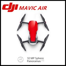 Wholesale Panorama Cameras - New Style DJI MAVIC AIR Fly More Comb 32 MP Sphere Panoramas 3-Axis Gimbal & 4K Camera Foldable & Portable 3-Directional Environment Sensing