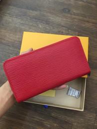 Wholesale Purses Discount - hot sale Women's Fashion Card Holders Leather Flap long Wallets Female Purses Card Holder Coin Pouch discount No box