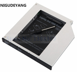 Wholesale Sata Ide Hard Drive Caddy - NIGUDEYANG 2nd PATA IDE to SATA HDD SSD Hard Drive Caddy for HP DV2000 DV6000 DV2156 DV6526 DV9000