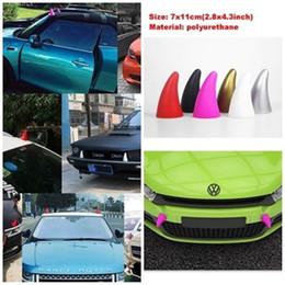 Wholesale Car Door Anti Collision - 3D Little Demon Horn Devil Car Stickers Anti Collision Cool decor Decal Anti Collision Creative BBA135