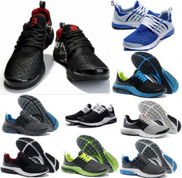 Wholesale Breathe Light - 2018 TOP Air PRESTO BR QS Breathe Black White Mens Basketball Shoes Sneakers Women Running Shoes For Men Sports Shoe Walking designer shoes