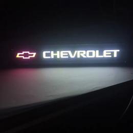 Coches chevy online-Chevrolet chevy Logo Light Car styling Emblema Delantera Capucha Parrilla Parrilla Bonete