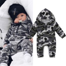 Newborn Baby Girls Boys Clothes Sleeveless Camouflage Romper Jumpsuit Pajamas UK
