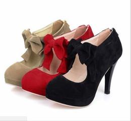 d9b7721fc9faeb schwarze high heels schuhe billig Rabatt 2019 heißer verkaufende neue  schwarze runde Kappe bowtie hohlen pfennigabsatz