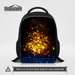 Wholesale Applique Patterns Kids - New Popular 12 Inch Bookbag For Boys Personality Galaxy Universe Space Pattern Kids Backpack School Bag Baby Mini Rucksack Children Knapsack