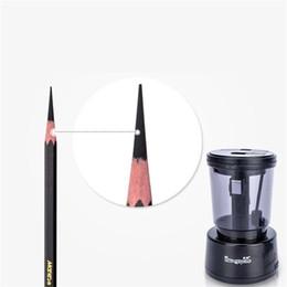 2019 mini apontadores de lápis Alta Eficiência Portátil Eletrônico Apontador de Lápis para Esboço Lápis Arte Do Carvão Vegetal Dedicado Refil Longo Papelaria