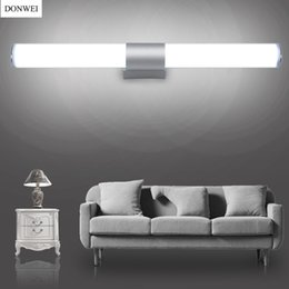 Ankleideraum Beleuchtung Rabatt DONWEI Einfache Stil 12 Watt 16 Watt 22  Watt LED Bar Wandleuchte Make