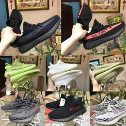 Wholesale Clear Dot - 2018 New 350 V2,V1,V3 Boost Yebra Semi Frozen with Orange dots Bred Cp9652,Beluga 2.0,Zebra Size 36-48 Shoes