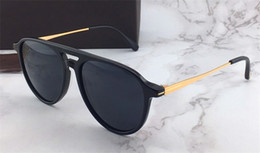 Wholesale new selling - New fashion designer sunglasses 0587 simple popular style for women top quality selling uv400 protection eyewear with original box