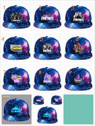 ganchillo sombrero de la boina del bebé Rebajas 10 unids sombrero de Fortnite Gorra Luminosa gorra de béisbol del Adolescente 2018 sombrero de hip hop del verano sombrero DHL envío gratis 10 colores regalos de navidad