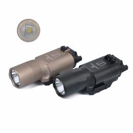 Pistola tática liderada on-line-Tactical Pistol luz SF X300 Ultra Revólver Luzes LED Caça À Prova D 'Água Tactical Holofotes CREE Q5 Lanterna