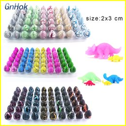 Wholesale eggs for hatching - Novelty Gag Toys Surprise Eggs Dinosaur Children Toys Cute Magic Hatching Growing Dinosaur Eggs For Kids Educational Toys Gifts
