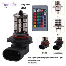 Wholesale Led H11 Yellow - 10pair H4 H7 H8 H11 20LED 2000LM License plate Car indicator Lamp width DC 12v Auto parking turn signal Fog tail Clearance Light