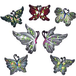 patch di ferro a farfalla Sconti 7 tipi di toppe a farfalla per il ferro da stiro sul trasferimento Applique patch di bellezza per il vestito di jeans fai da te cucire sul distintivo del ricamo