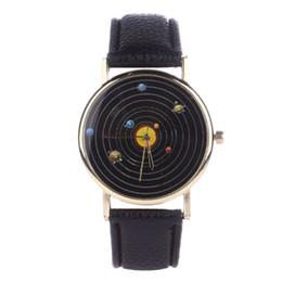 Wholesale Brown System - Fantastic Solar Watch for Men Fashion Lovers solar system bracelet Watch Woman bay reloj mujer