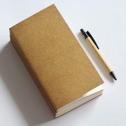 Organizador de la libreta online-2019 Standard / Pocket Paper Notebook Blank Dot Grid Notepad Diary Journal Traveler Traveler Planner Organizer Filler Paper as