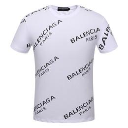 No verão de 2018, o novo high-end dos homens e das mulheres usam T-shirt, elegante manga curta camisa, camisa de desgaste dos homens 184 de