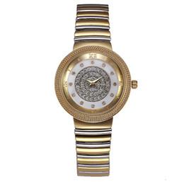 Braccialetti di marca della porcellana online-Cinturino per orologi in oro con cinturino in oro, per uomo, con strass, in pelle, con motivo, in oro, con bottoni, in oro, in pelle, con dettagli in oro