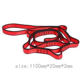 Accessoires de gravité en Ligne-43in Anti-Gravity Aerial Yoga Ceinture D'accrochage de Corde D'accrochage Corde D'escalade Accessoires De Fitness Sauter Stretch Ceinture Équipement De Remise En Forme