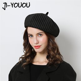 boina cap men Promo Codes - Women Berets Hat For Winter Female peaky blinders Cotton Hats Vintage Fashion boina Autumn 2018 Brand New Women's Caps