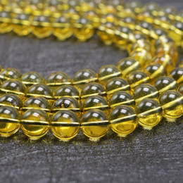 Wholesale round amber beads - Natural Good Quality Mexico Amber Loose Round Beads 8mm - 50 Beads