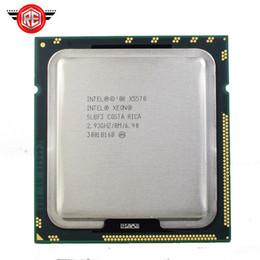 Wholesale Cpu Intel Xeon Server - Computer Components CPUs Intel Xeon X5570 processor 2.93GHz 8MB 6.4GT s Quad-Core LGA1366 Server CPU xeon x5570