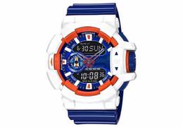 Mens Nueva Moda de Lujo Marca AAA de Calidad Superior G estilo Deportes Shac Wacthes para Hombres Militar Pantalla Digital LED Masculino Reloj de Alarma Reloj desde fabricantes