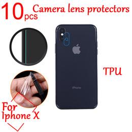 10pcs Ultra Clear anti-Explosion TPU Soft Camera Len Protectors Film Cover  For X Camera Len Film Protective Film+cloth 5fe1f9fe85e7