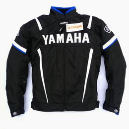 Chaqueta de la motocicleta de los hombres para Yamaha malla transpirable protección de la motocicleta motocicleta proteger almohadillas armadura Racing Chaqueta Moto Verano desde fabricantes
