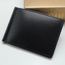2018 Luxe populaire la nouvelle entreprise de mode MB Véritable carte de visite en cuir sac de carte de crédit titulaire de la carte de crédit noir court détenteurs de crédit ? partir de fabricateur