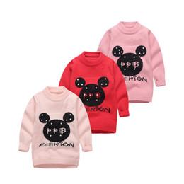 Wholesale Kids Animal Sweaters - In the autumn of 2017 new kids children sweater fashion girls cartoon girls sweater factory direct