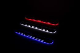 Ha portato le luci di portello del portello online-Davanzale ultrasottile impermeabile auto LED LED porta batticalcagno piatto porta davanzale per Toyota COROLLA 2013 2014 2015 2016, davanzale porta anteriore