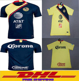 Wholesale wholesale free delivery - In stock DHL Free shipping the best quality 2018 2019 America soccer jersey free ultra-fast delivery size can be mixed batch S-XXL