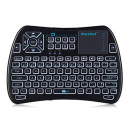 iPazzPort KP - 810 - 61 Wireless Mini Tastatur Hintergrundbeleuchtung Funktion mit Touchpad von Fabrikanten