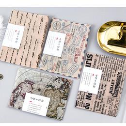 Wholesale Stationery Stamps - Wholesale- New 3 pcs pack vintage stamp Stationery envelopes paper envelope 1 lot = 16 packs = 48 pcs Wholesale