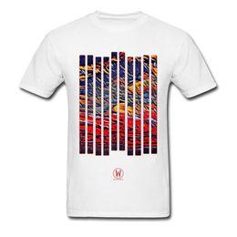 paesaggistica naturale Sconti T-shirt colorate Cloud Landscape T-shirt da uomo in cotone naturale tondo di buona qualità T-shirt da uomo Slim Fit Street Tops