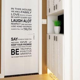 Alfabe Çıkartmalar Yatak Odası Duvar Çıkartmaları Çizim Kanepe Çıkarılabilir Arka Plan Sanat Ev Odası Dekor DIY büyük alıntı duvar sticker cheap alphabet room stickers nereden alfabe odası çıkartmaları tedarikçiler