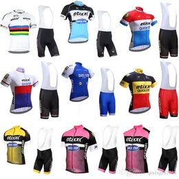 2018 New Arrival Quick Step Cycling Jersey Tour De France mens Bicycle  Clothing Quick-Dry Lycra GEL Pad Bike bib shorts sets C0802 b69c7f198