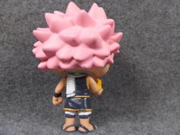 figura de fada anime Desconto Modelo Imperfeito Funko Pop Segunda Mão Anime Fairy Tail Natsu Figura Collectible Toy Modelo Barato No Box 2018