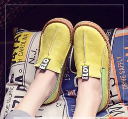Gros femmes plate-forme plate mocassins dames élégantes en cuir daim mocassins chaussures femme glissent sur mocassin femmes occasionnels chaussures ? partir de fabricateur