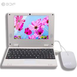 Portatili dual core online-Mini Netbook Nuovo notebook Android da 7 pollici Notebook portatile Dual core Android 4.4 HDMI Wi-fi VIA 8880 Spedizione gratuita 8 9 7 10