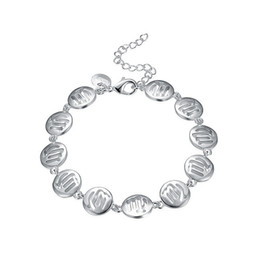 Свадебный браслет онлайн-Бесплатная доставка!Дева браслет 925 серебряный браслет JSPB581;низкая цена девушка женщины стерлингового серебра покрытием Шарм браслеты