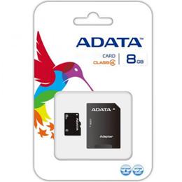 Melhor venda ADATA 100% Real 4 GB TF Cartão de Memória Adaptador de Varejo Pacote frete grátis rápido de