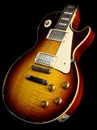 Custom Shop Exclusive Murphy Ultra 1959 Guitare Électrique Faded Tobacco Burst Relique En Acajou ? partir de fabricateur