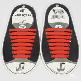 Wholesale lock laces shoelaces - 16pcs  Pair Free Shipping Colorful Locking Shoe Laces Elastic Shoelaces Shoestrings Running Jogging Triathlon Sports Fitness