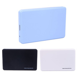 """Wholesale Hard Plastic Carrying Cases - External HDD SSD 2.5inch SATA 2.5"""" USB 3.0 Hard Disk Drive Enclosure Case Caddy With Carrying Case Bag For Windows 7 8 98 ME"""