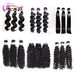 Wholesale kinky hair weave styles - xblhair afro kinky curly hair real 100% human hair extensions within different hair style new sale water wave