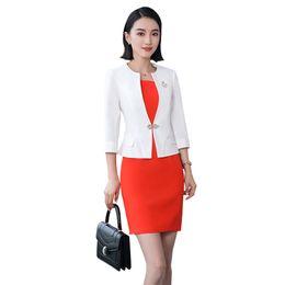 4027d698f55 summer bodycon office dress set women office dress suits   blazer plus size  elegant slim pencil and blazer two piece set